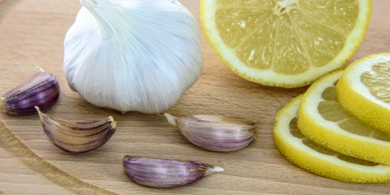 Garlic with lime