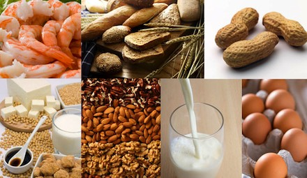 Recommendations to control food allergies